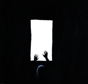 """Una delle illustrazioni del libro """"E alla fine il cielo""""."""